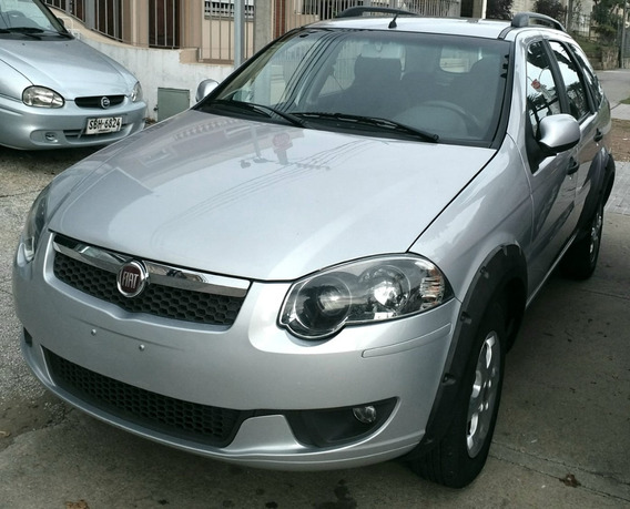 Fiat Palio Weekend 1.4cc 2016 Gris 60.000km