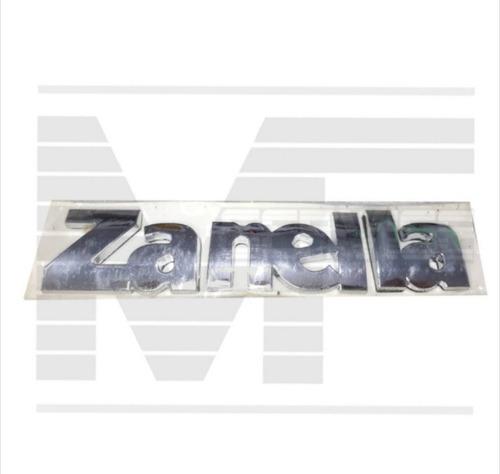 Insignia Alto Relieve Logo Zanella 14.5 X 3 Cm