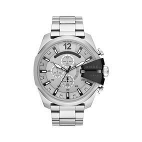 Relógio Diesel Masculino Ref: Dz4501/1kn Cronógrafo Fosco