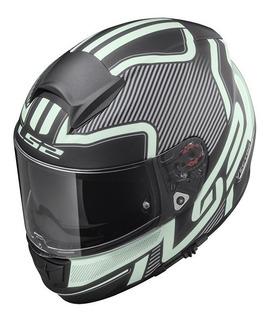 Casco Cerrado Ls2 Vector Orion Ff397 Rider One
