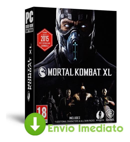 Mortal Kombat Xl Pc Ação Luta Português Brasileiro 2019