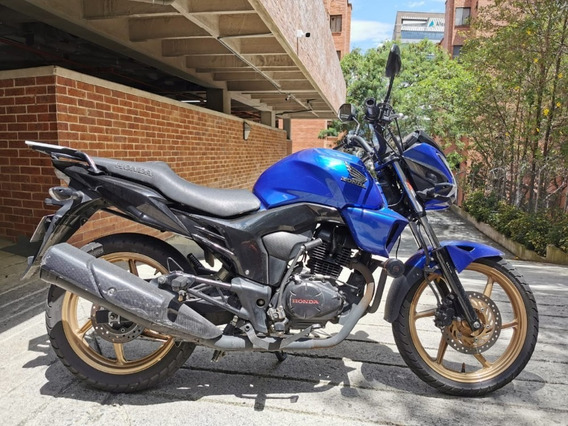 Moto Honda Invicta 150cc Azul Km 33,530 Modelo 2015
