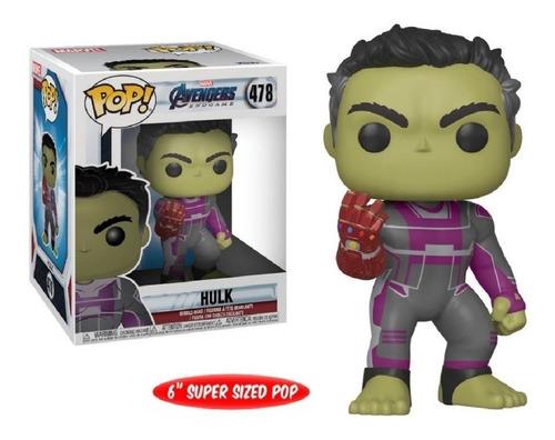 Avengers End Game Hulk Funko Pop #478 6 Pulgadas Original