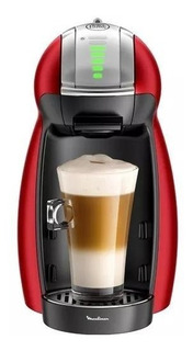 Cafetera Moulinex Dolce Gusto Pv1605 Genio 2 Red Metal