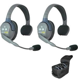 Eartec Ul2s Ultralite Sistema De Auriculares Para 2 Personas