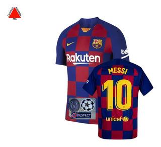 Camisa Barcelona Jogador 2019/2020 Champions - Pronta Entrega + Video