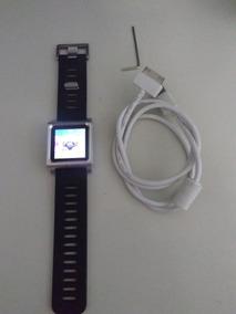 iPod Nano, 6a. Geração, 8gb + Pulseira Lunatik De Silicone.