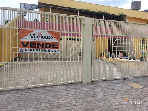 Casa Com 3 Dormitórios À Venda, 656 M² Por R$ 1.500.000,00 - Ribeirânia - Ribeirão Preto/sp - Ca3855