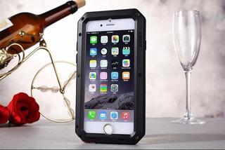 Case iPhone 6 Plus Lunatik Com Vidro Gorilla Glass