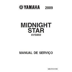 Manual De Serviço Yamaha Midnight Star Xvs950a