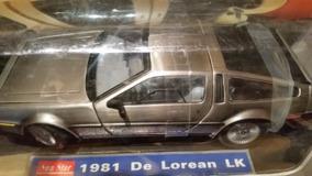 Miniatura Delorean Lk 1981 Sun Star 1/18