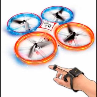 Drone De Acrobacias Y Sensor De Mano