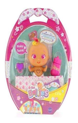 Imagen 1 de 2 de Bellies Bebe Interactivo Muñeco Pinky-twink  Original Famosa