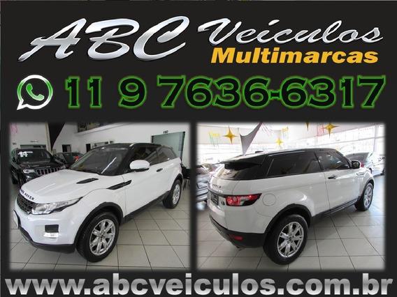 Land Rover Evoque 2.0 Pure Tech Coupé - Ano 2012 - Financio