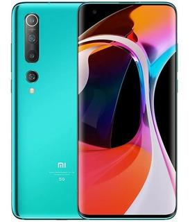 Xiaomi Mi 10 128gb Coral Green Tela 6,67 8gb Ram + Brindes