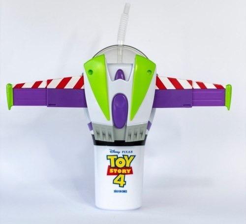 Vaso Promocional Buzz Lightyear Toy Story 4 Cinemex Woody