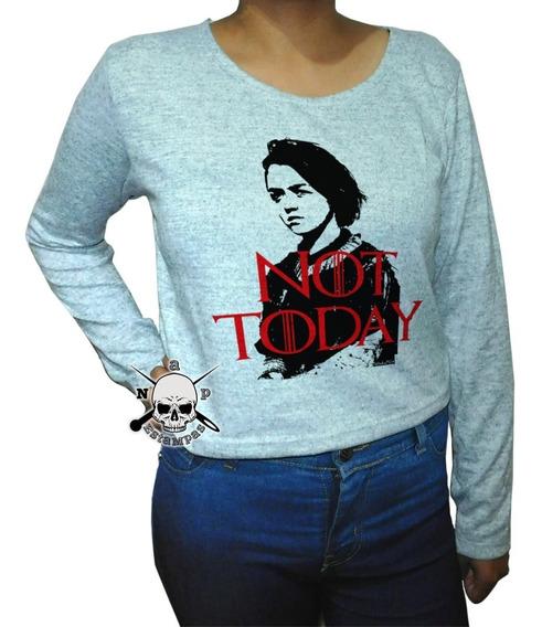 Sweater De Lanilla Pupero Game Of Thrones Arya Not Today