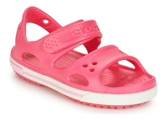 Crocs Crocband 2 Sandal Ps Pink Envío A Todo El País Gratis