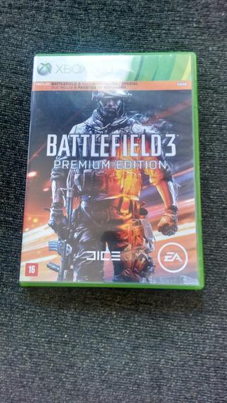 Battlefield 3 Original Usado Conservado Sem Dlcs Xbox 360
