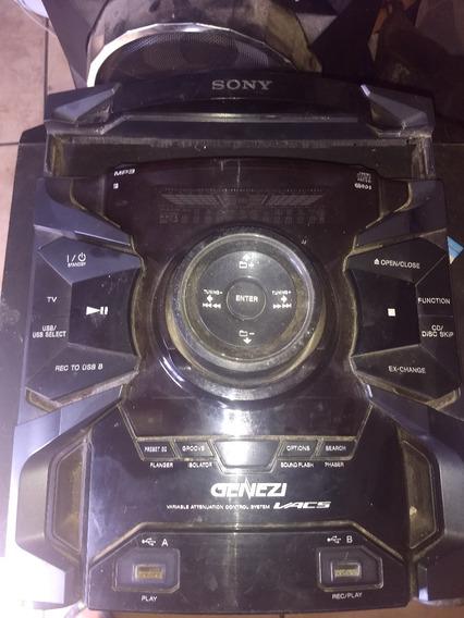Frente Completa Do Som Sony Genezi Mhc-gtr-555
