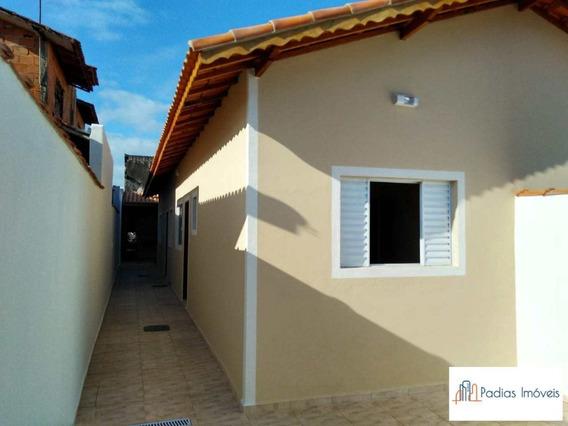 Casa Com Churrasqueira À Venda Em Mongaguá - Ref. 6570 E