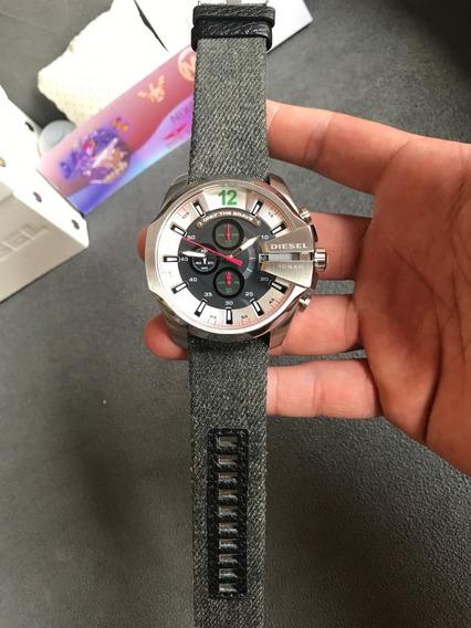 Relógio Diesel Dz4402 Prata Original Completo Com Caixa