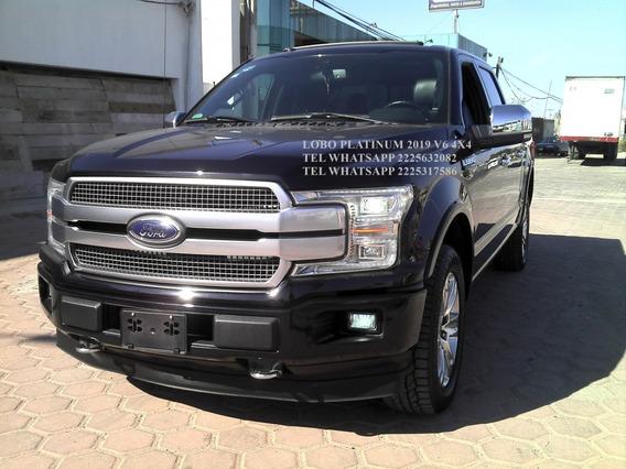 Ford Lobo Platinum 2019 V6 4x4 Dob/cab