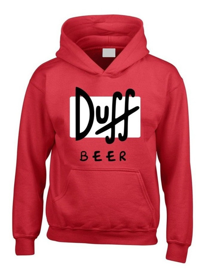 Duff Beer / Buzo Canguro Los Simpson Homero / Trap
