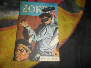 Hq Zorro Nr 45 Editora Ebal