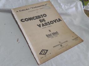 Partitura Piano Concerto De Varsovia - Richard Addinsell
