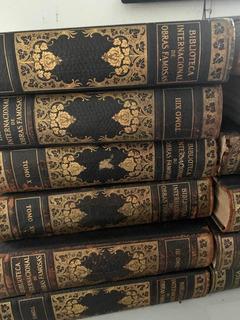 Livros Antigos Lote Biblioteca De Obras Famosas Coleção
