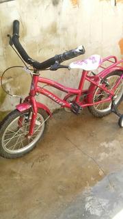 Bicicleta Rod 16 De Nena Muy Buen Estado