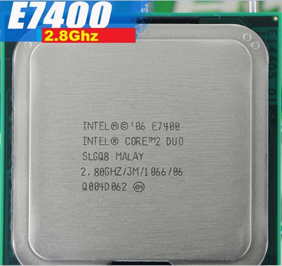 Processador Core 2 Duo E7400 2.8 Ghz 3 M Cache 1066 Mhz