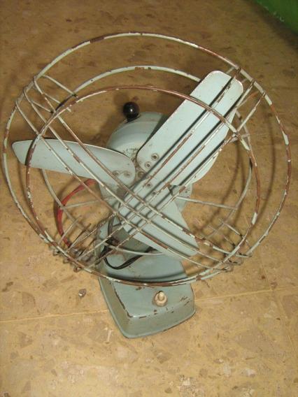 Ventilador De Mesa Antiguo