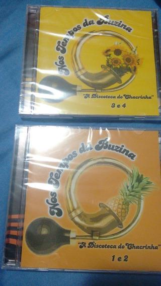 4 Cds / Nos Tempos Da Buzina - A Discoteca Do Chacrinha