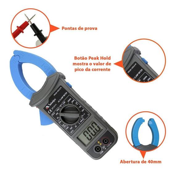 Amperimetro Multimetro Digital Alicate Minipa - Et-3111