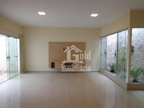Casa Com 3 Dormitórios À Venda, 110 M² Por R$ 480.000,00 - Condomínio Guaporé - Ribeirão Preto/sp - Ca1407