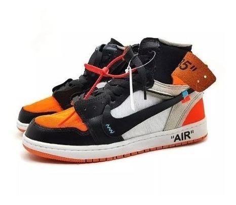 Tênis Importado Air Jordan 1 Off White Hype Outfit Promoção!