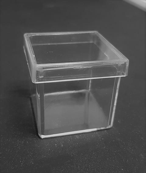 Caja Cuadrada #5 Acrílico Transparente, 5 Pzas, Medida 10*10