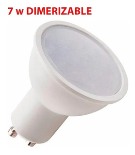 Lampara Dicroica Led 7w Dimerizable Gu10 Luz Desing