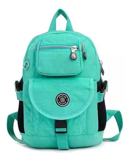 Bolsa Tipo Mochila Backpack Para Mujer O Niña