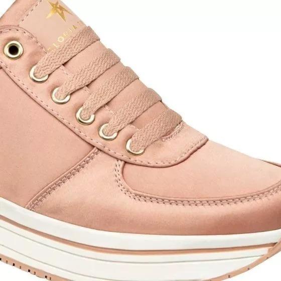 Tenis Casual Para Dama Gloria Trevi 823572 Color Rosa Urbano