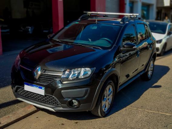 Renault Sandero Stepway Ii Privilege Nav 60000km Negro