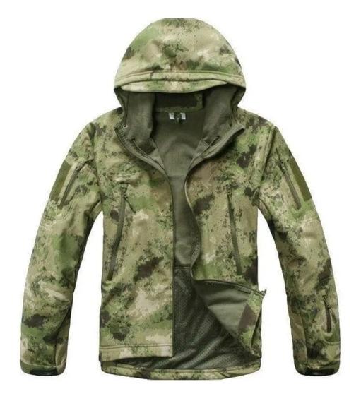 Campera Táctica Militar Softshell