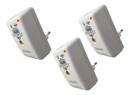 Repelente Eletrônico Sonoro Eficaz Contra Ratos Morcegos 3un