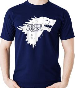 5860e5068 Game Of Thrones Camisa - Camisetas Manga Curta no Mercado Livre Brasil