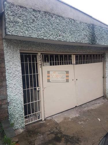 Casa Com 1 Dormitório Para Alugar, 30 M² Por R$ 650/mês - Jardim Cidade Pirituba - São Paulo/sp - Ca0627