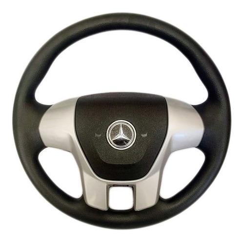 Volante Esp Caminhão Mercedes-benz Ralk Rallye Prata Mb 2831