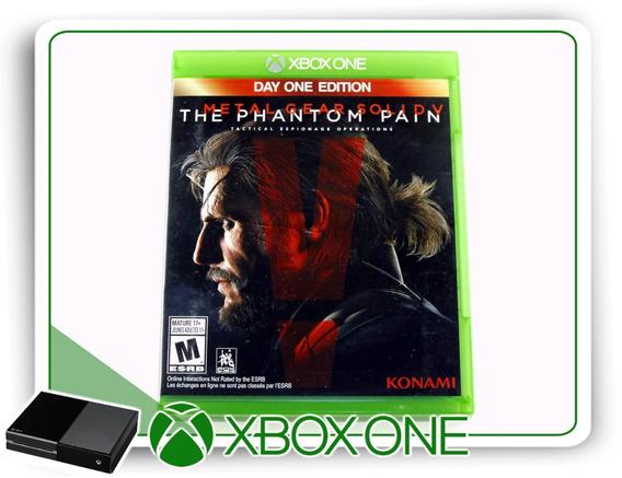 Metal Gear Solid The Phantom Pain Orig. Xbox One Míd. Física