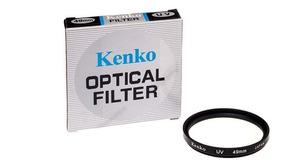 Filtro Protetor Lente Uv 49mm Kenko Para Canon Nikon Sony